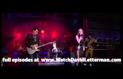 Sahara Smith Live on Letterman